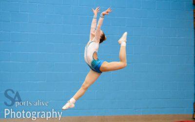 Demi Botha Aerobics Gymnast and Badminton Player